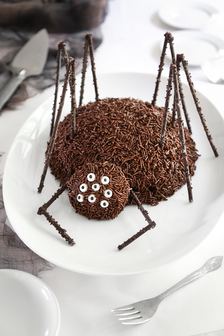 Chocolate Spider Sprinkle Bakes