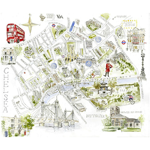 Chelsea-Map